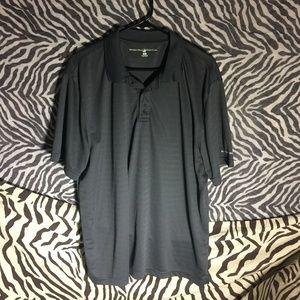 Beverly Hills Polo Club Dark Wick Wear Gray Polo